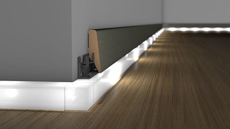 Skirting boards of attractive and timeless design