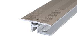 PS 400 Übergangsprofil - Edelstahl matt