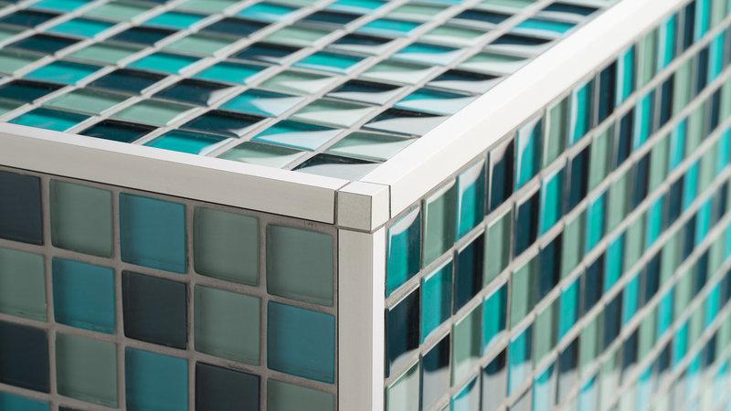 Quadrant and square edge trims